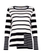 Phase Eight Felicity Mix Stripe Knit Top