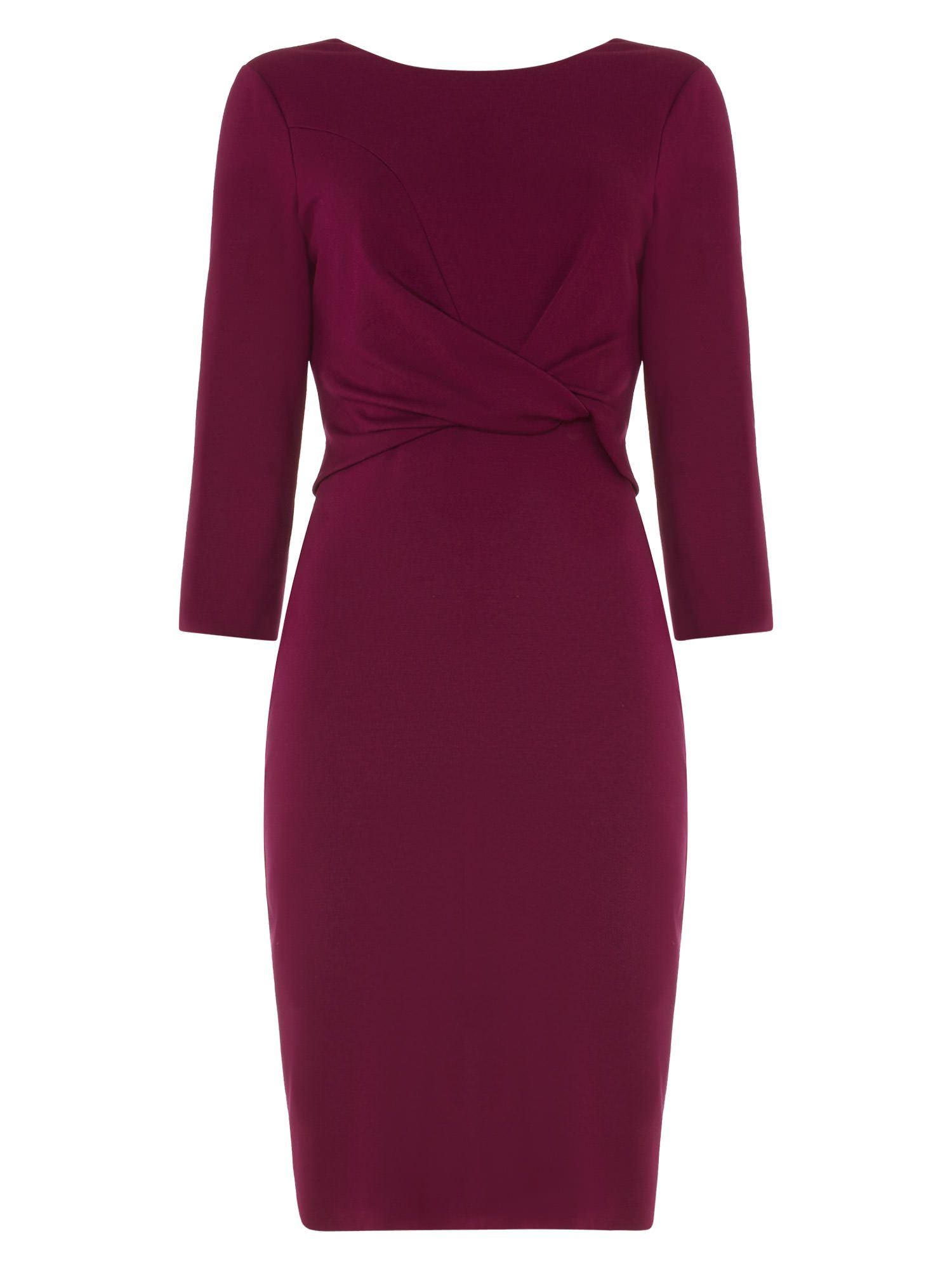 Tayla Twist Front Dress by Phase Eight