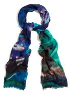 Phase Eight Hope Marble Print Scarf