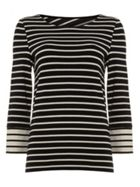 Phase Eight Stevie Cross Back Stripe Top