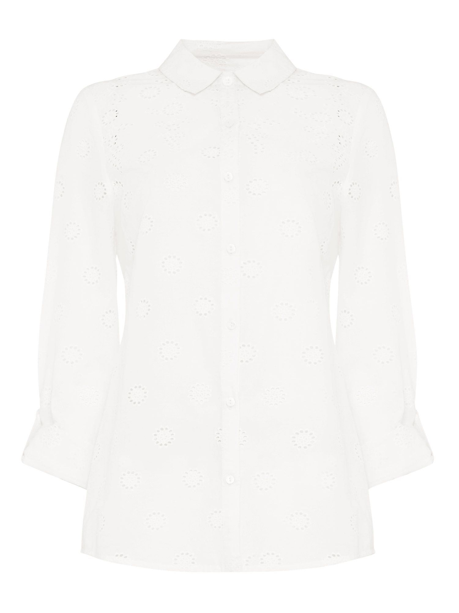 Kym Broidery Shirt by Phase Eight