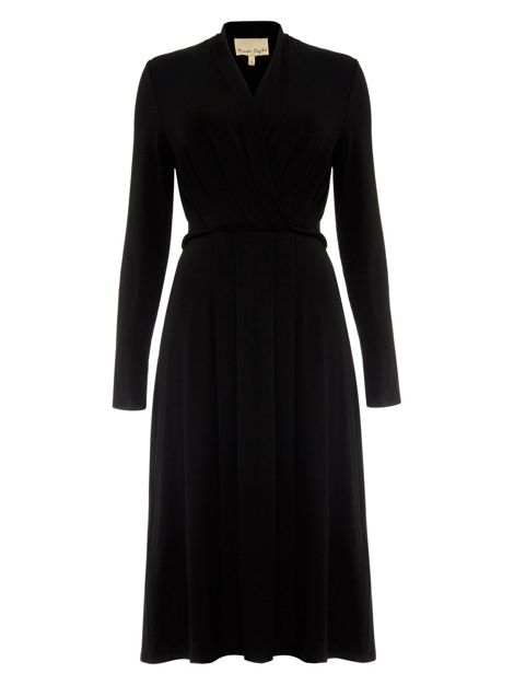 Pauline Pleated Wrap Dress by Phase Eight