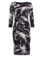 Phase Eight Etched Daisy Twist Dress