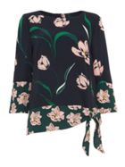 Phase Eight Leto Patchwork Floral Blouse