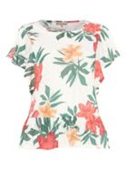Phase Eight Francisco Floral Burnout Top