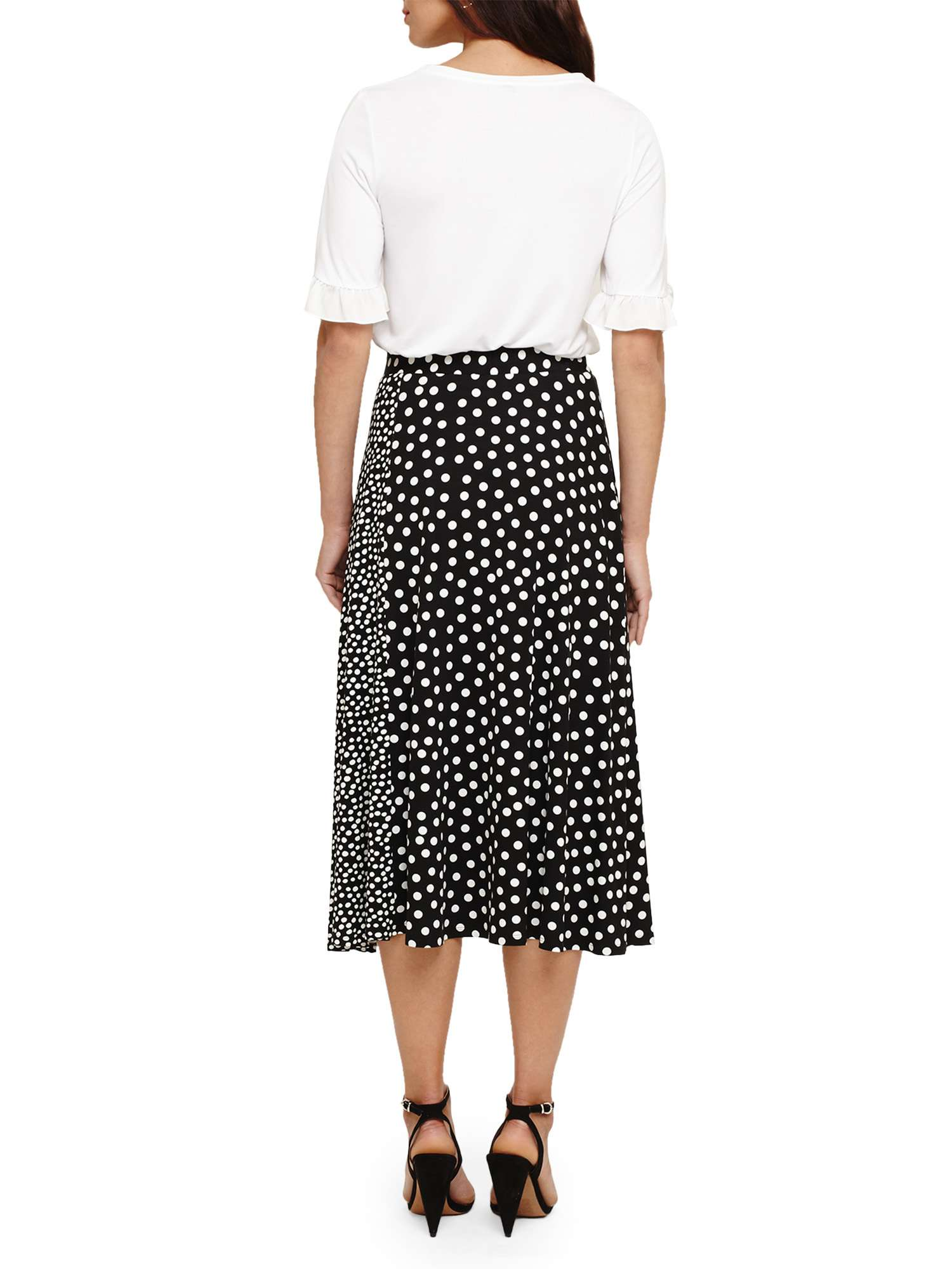 Phase Spot Mixed Skirt Sallie Eight fwwqtHr