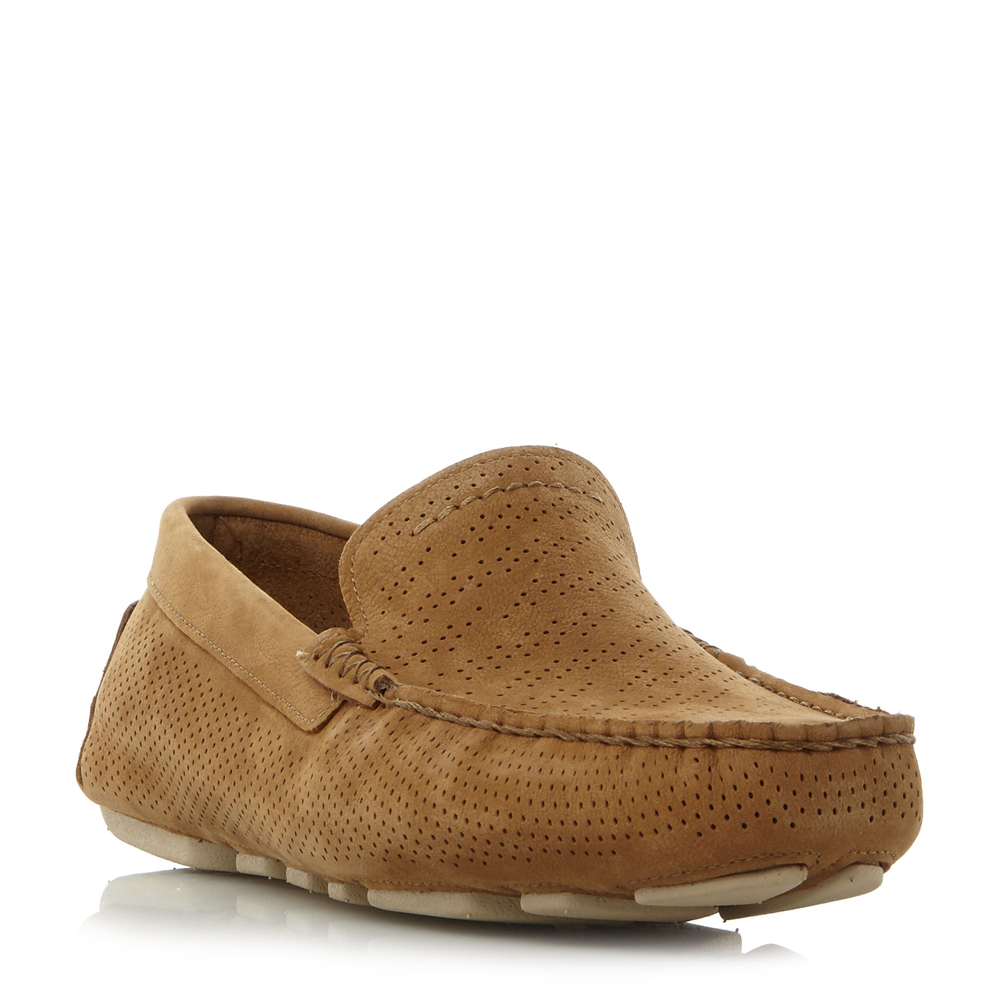 UGG Henrick stripe leather driving shoes ...