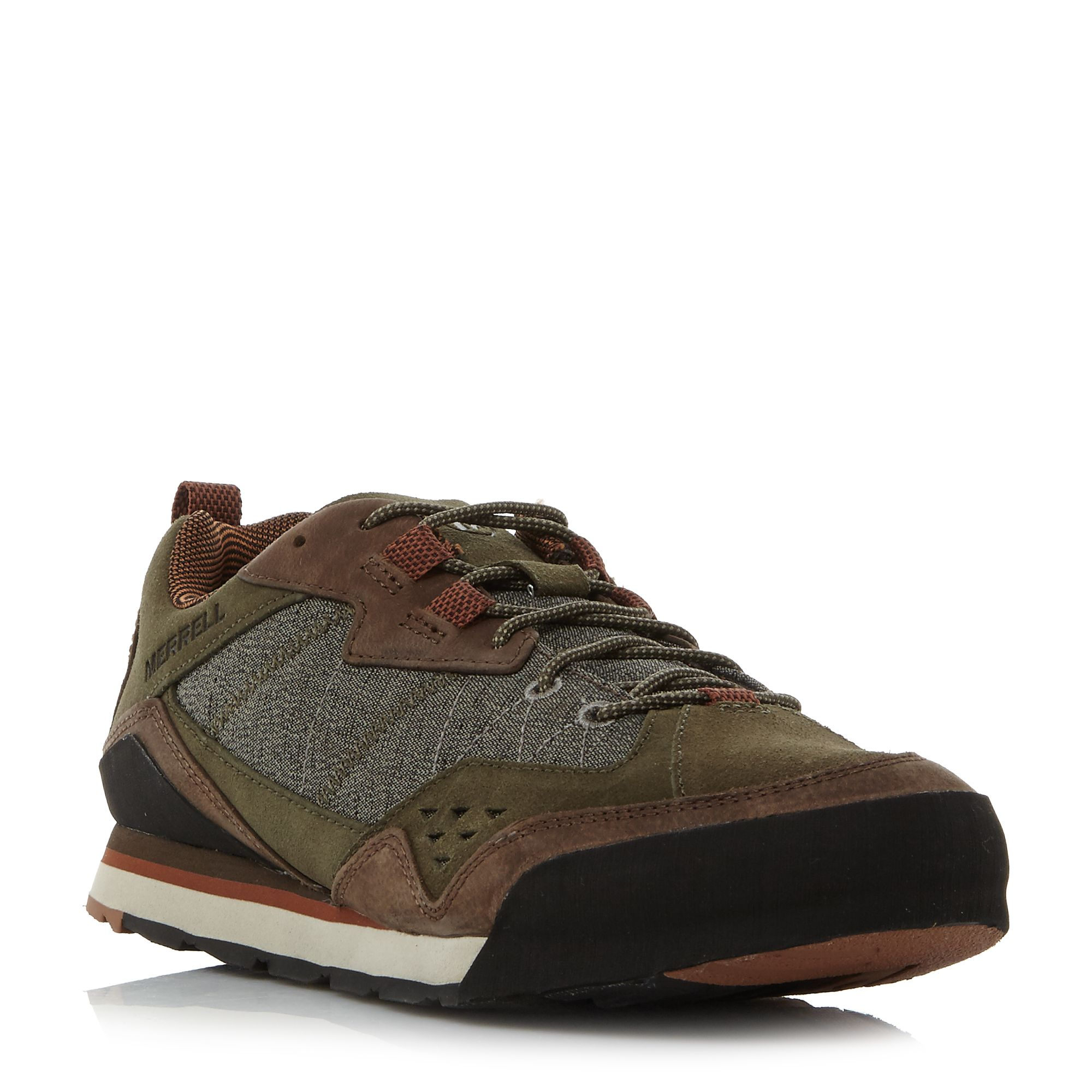 Merrell Burnt rock runner sole shoe ...