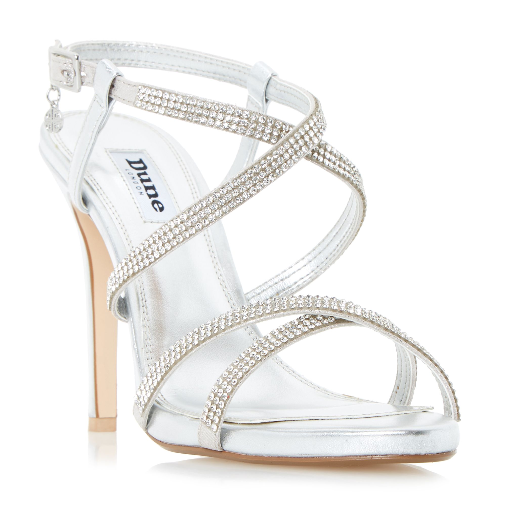 Dune Silver Ladies Shoes at House of Fraser