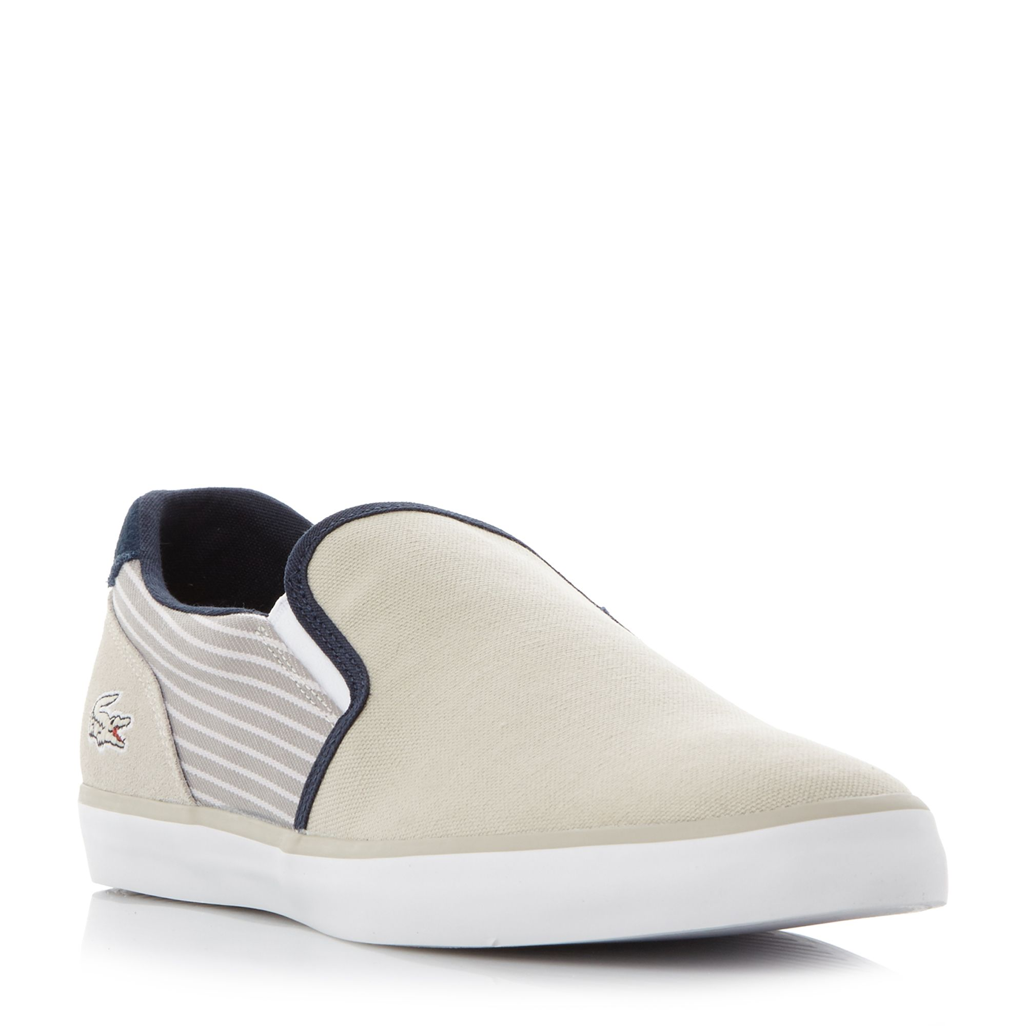 Jouer Slip On Striped Quarter Trainers by Lacoste