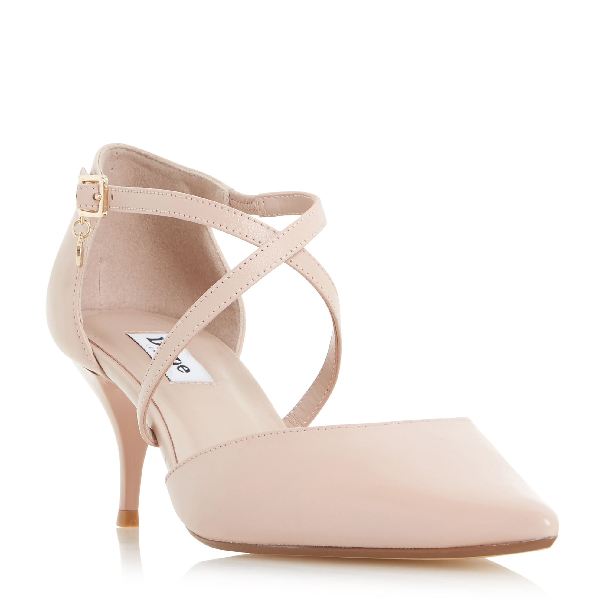Dune Courtnee Kitten Heel Court Shoe - House of Fraser