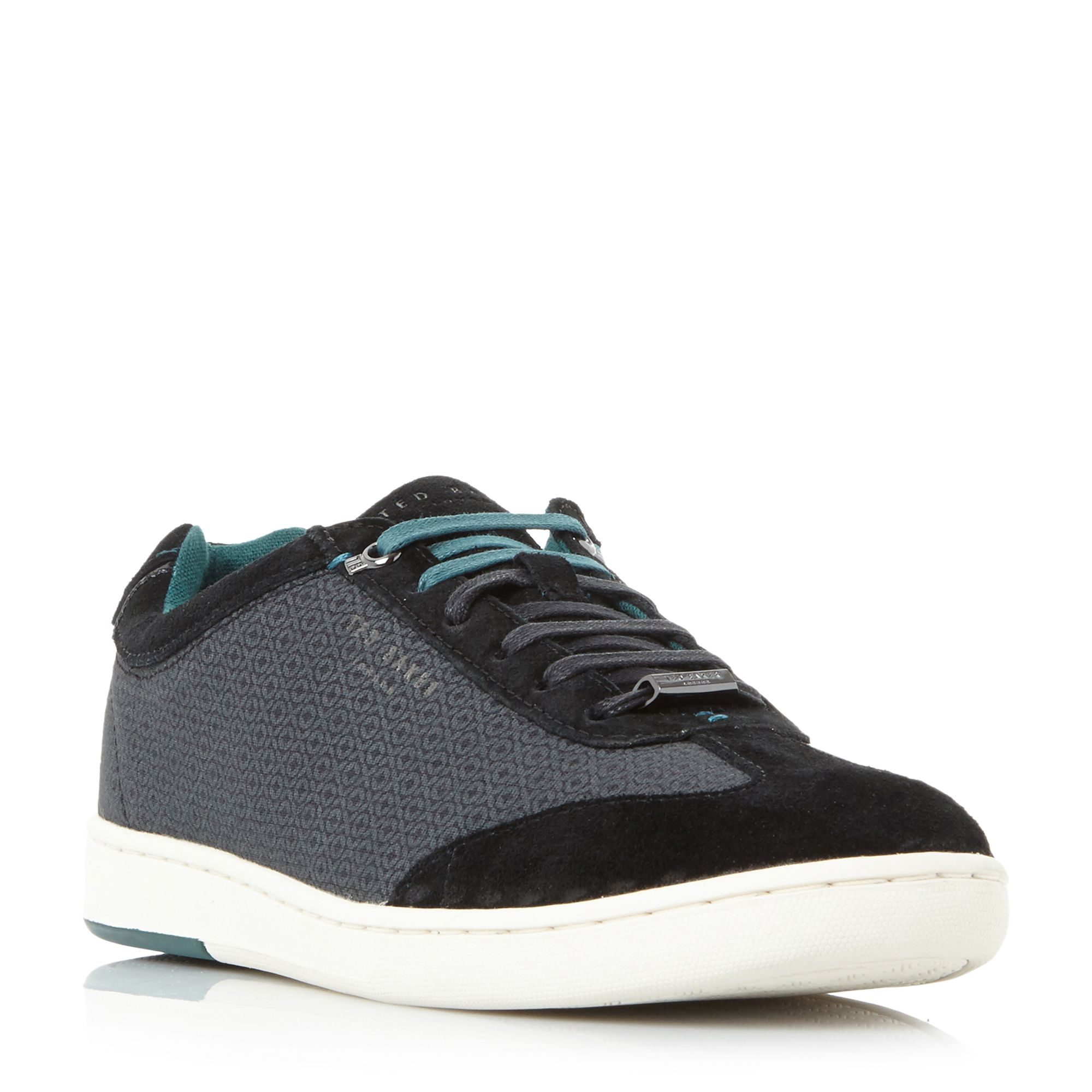 Ted Baker Kiefer Textile Cupsole Trainers ...