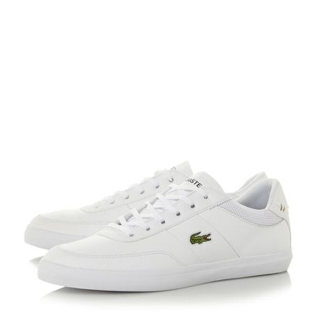 Lacoste Court Master Lace Up Trainers