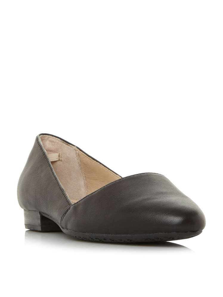 38e1694eac1a Hush Puppies Jovanna Phoebe Leather Pump Shoes - House of Fraser