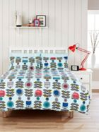 Humming Bird by Christy Scandi Floral Duvet Cover