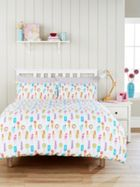 Humming Bird by Christy Ice Lollies Duvet Cover