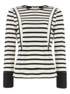 Damsel in a Dress Striped Long Sleeve Top