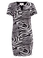 Damsel in a Dress Zebra Print Tunic Dress