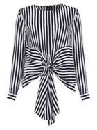 Damsel in a Dress Greta Stripe Tie Waist