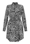 James Lakeland Animal Print Shirt Dress