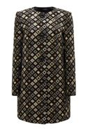 James Lakeland Jacquard Pattern Coat