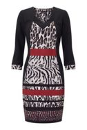 James Lakeland Animal Print Dress