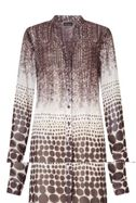James Lakeland Printed Long Sleeve Shirt
