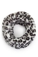 James Lakeland Leopard Faux Fur Snood