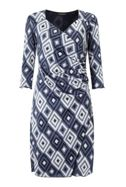 James Lakeland Side Pleat Dress