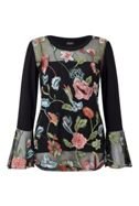 James Lakeland Embroidered Top