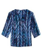 Jungle Blues Blouse