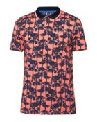 Men's Ted Baker Golfed Ss Palm Tree Print