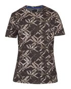 Men's Ted Baker Woof Geo Print Cotton T-Shirt