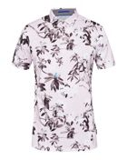 Men's Ted Baker Scruff Floral Print Polo Shirt