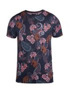 Tifoo Paisley And Tiger Print T-shirt