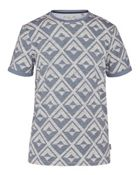 Men's Ted Baker Bernerd Geo Print Cotton T-Shirt