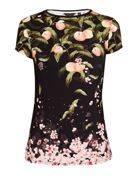 Ted Baker Delilee Peach Blossom Fitted Tee