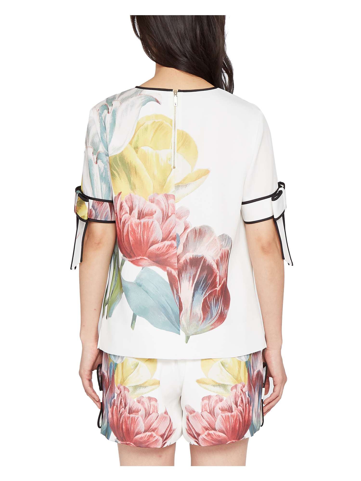 Ted Top Baker Tranquility Bow Polliie Sleeve FFrxq4