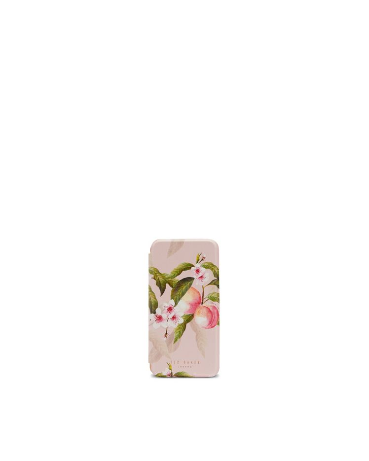 Peach Blossom Iphone X Book Case Ted Baker
