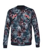 Men's Ted Baker Parma Embroidered Printed Bomber Jacket