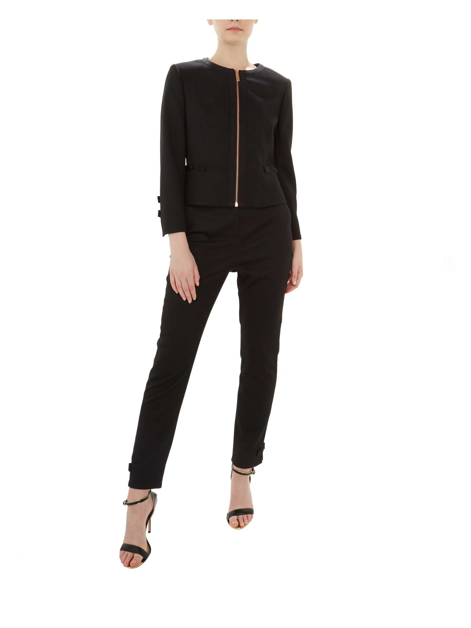 d4cf2c01ee408c Nadae Bow Ted Baker Cropped Jacket Detail 8xq0wgTw1F at dwell ...