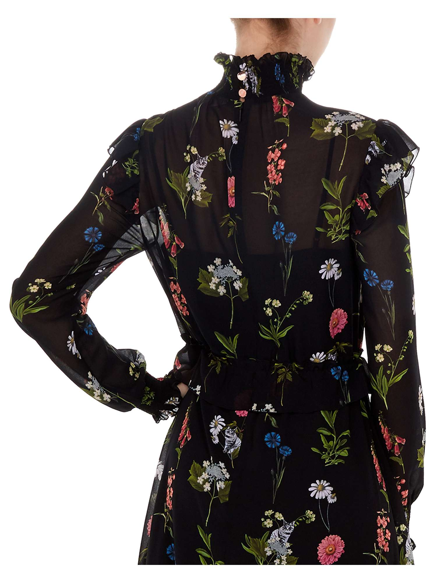 26ce062b22b81a Ted Baker Midi Florence Dress Long Sleeve Simarra rrwTqz at dwell ...