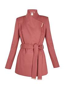 Ted Baker Rytaa Short Wool Wrap Coat ... e23df055f