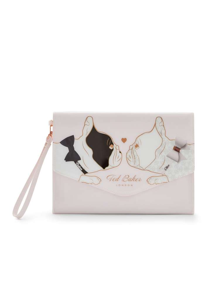 d0a45374d3187 Ted Baker Neleen Cotton Dog Envelope Pouch - House of Fraser