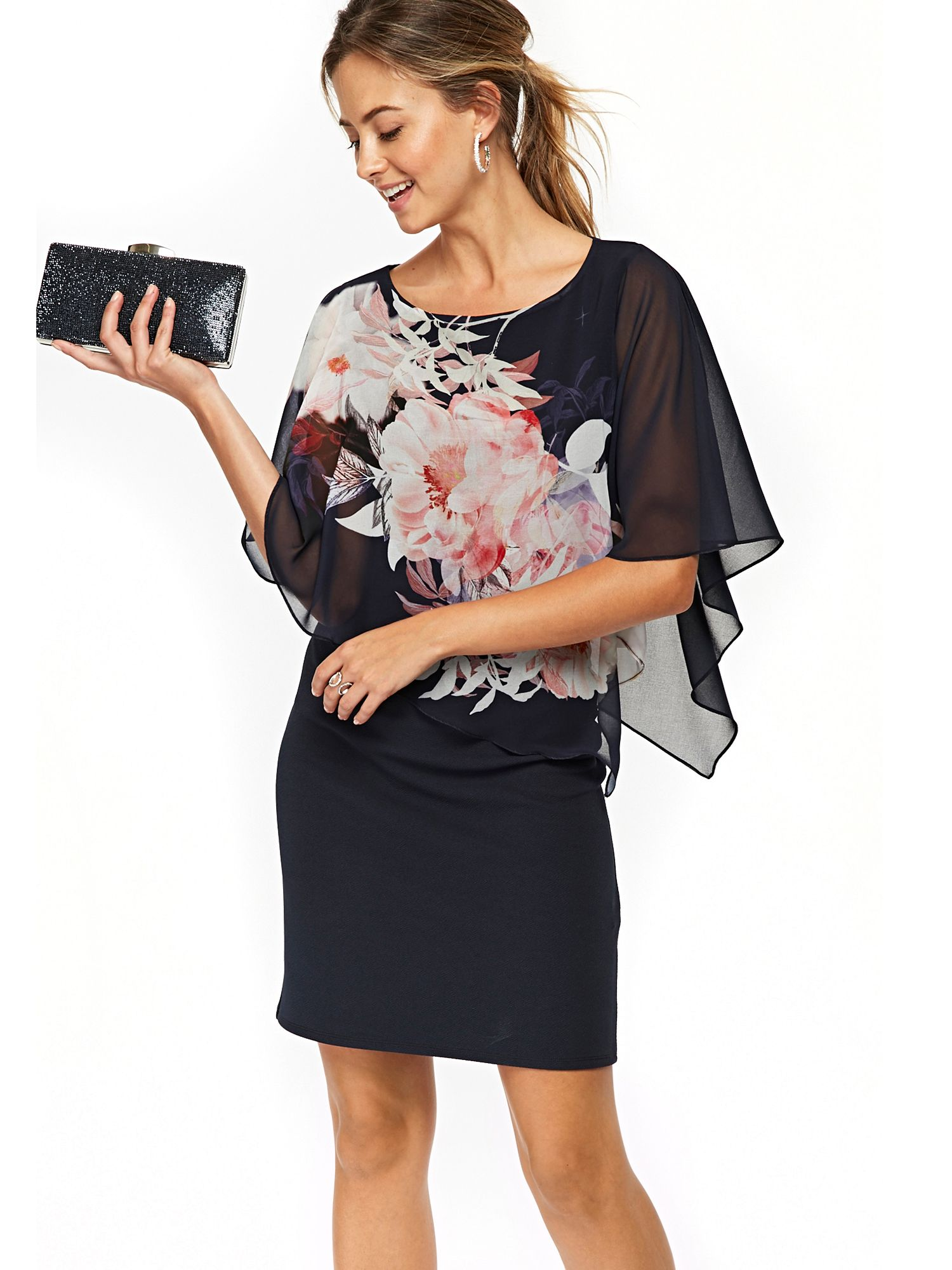 discount crazy price 100% authentic Wallis Petite Blossom Shift Dress - House Of Fraser   Wallis