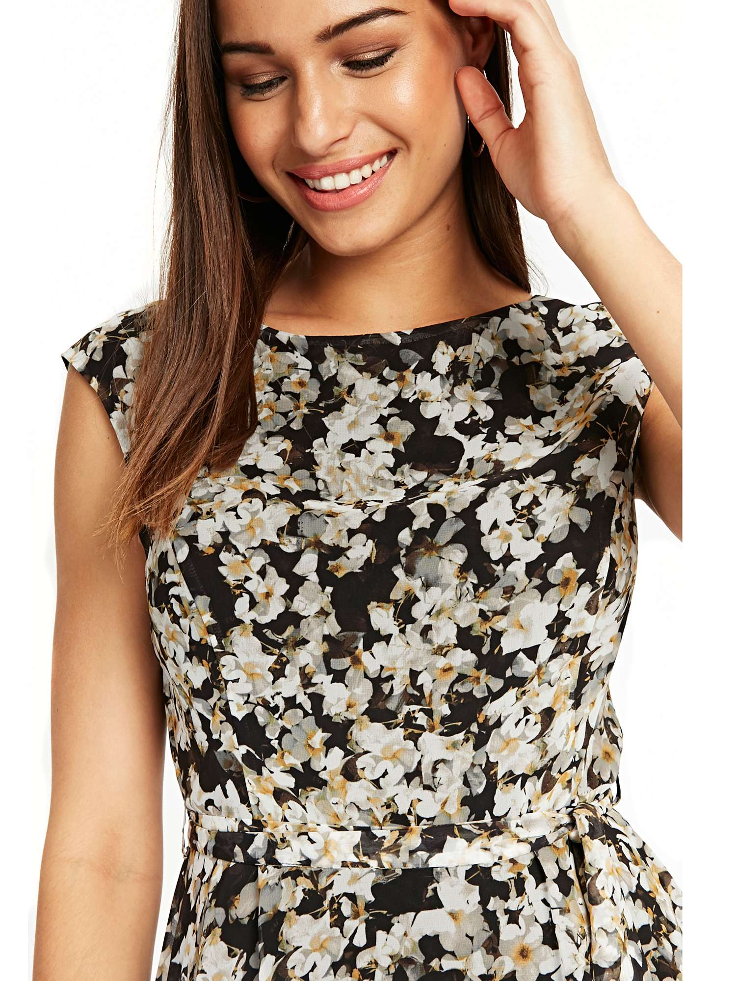 Wallis Floral Dress Fit And Flare CxnnvXOqw