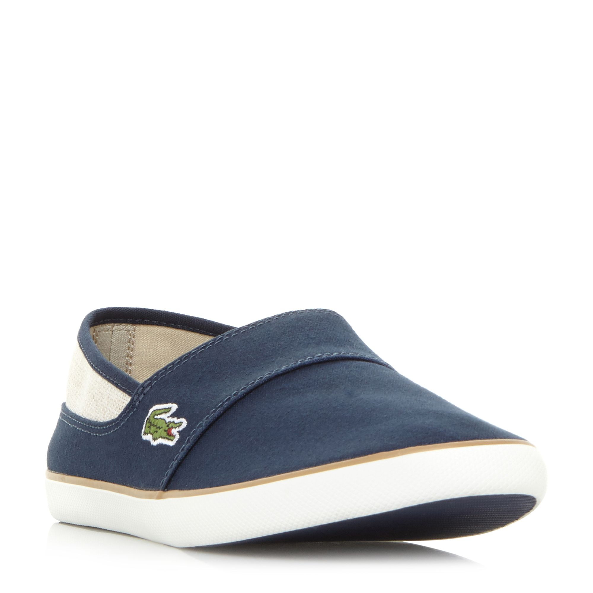 Marice Chambray Slip On Shoes by Lacoste