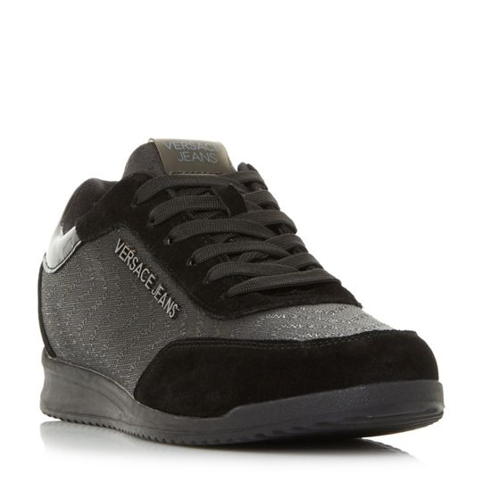 Versace E0ysbsc1 Logo Emboss Trainers
