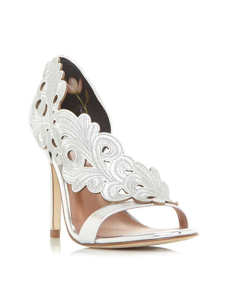3001b890a43ad8 Ted Baker Myrana Laser Cut Shoes - House of Fraser