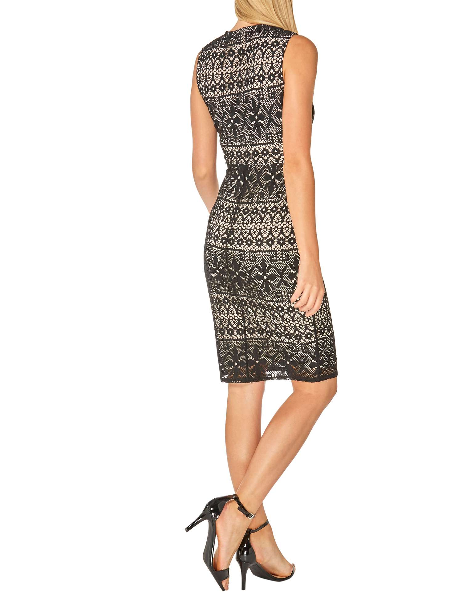Wrap Dorothy Bodycon Lace Dress Perkins pFx1qF